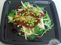Салат из спаржи и ветчины
