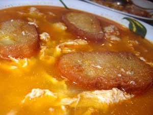 Суп с яйцом из микроволновки