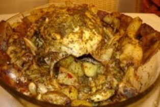 Цыплёнок в микроволновке