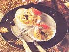 Моллюски в соусе из шафрана