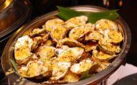 Фаршированные рисом моллюски