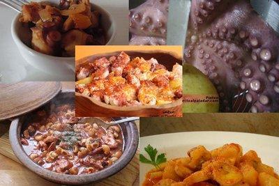 Лучшие рецепты из осьминогов