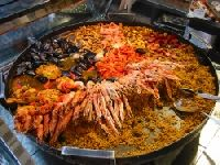 Паэлья звезда испанской кухни