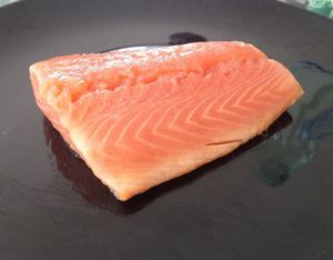 Как коптить лосося