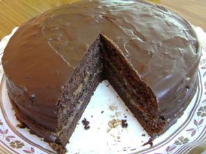 Шоколадный пирог фото