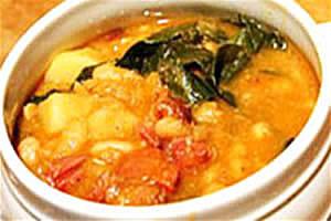 Овощная похлебка, олья тонта