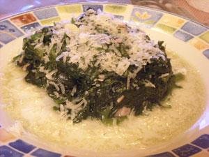 Тушеные овощи с сыром