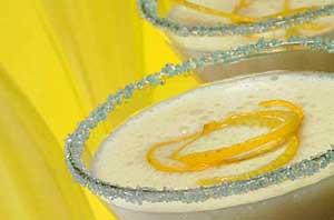 Сорбет лимонный
