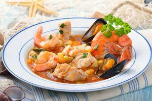 Горшочек с морепродуктами