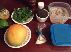 Как приготовить салат из авокадо и креветок