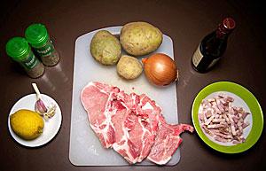 Свиные отбивные в духовке