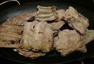 Рёбрышки свиные в духовке