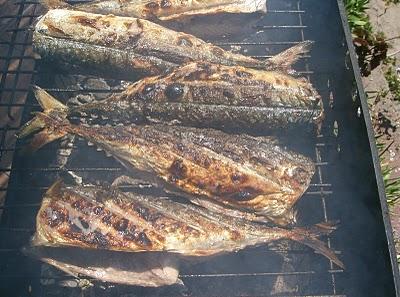Рыба на решётке