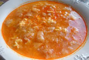 Суп чесночный